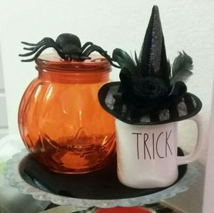 None Accents - Witches hat mug topper Halloween Decor